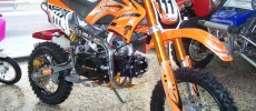 Pit Bike Scorpion 125CC 4T, motor HONDA
