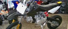 Pit Bike Cross Rettro, 125CC 4T, Motor Honda