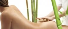 Curso de masaje con cañas de bambú