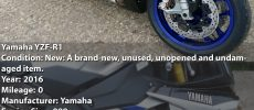 Venta Yamaha, Suzuki, Honda y BMW motos
