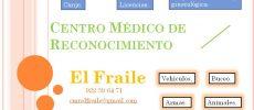 Reconocimiento médico para todo tipo de licencias: VEHÍCULOS, BUCEO, ARMAS, SEGURIDAD, ANIMALES, PESCA, …