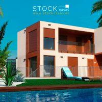 Casa prefabricada super económica UTILIZADA 1 SEMANA 125 m2 AMUEBLADA 2 Plantas 3 Habitaciones 2 Baños